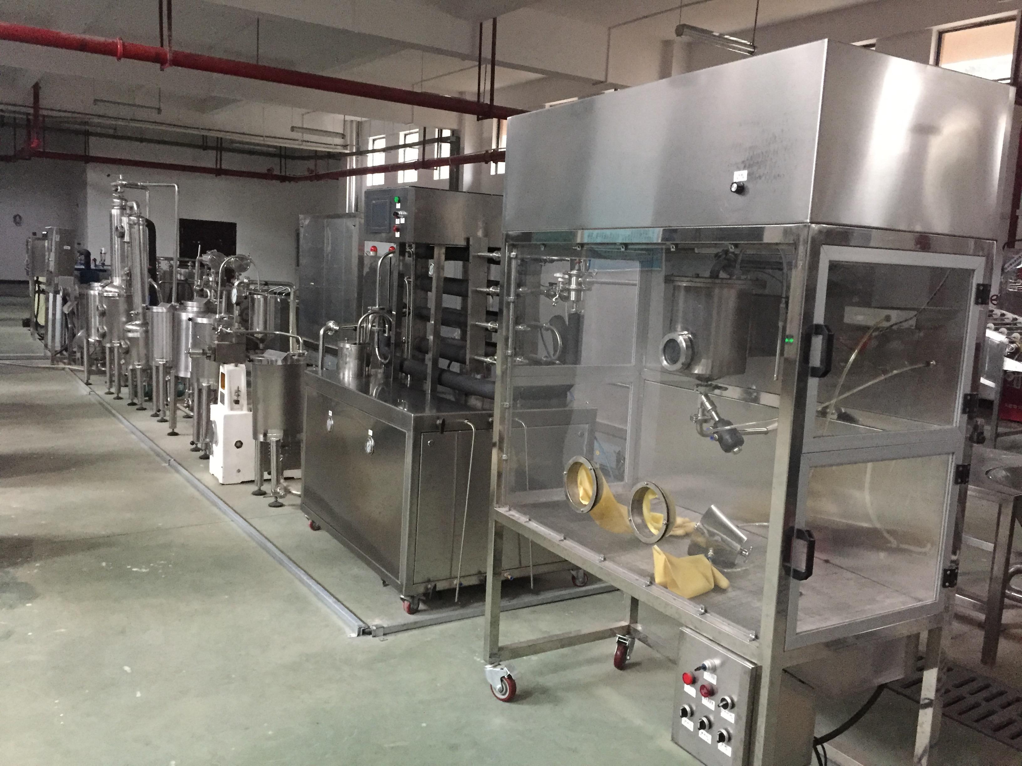 大型竞博jbo电竞  教学用小型饮料生产成套设备